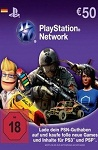 Playstation Network Live Card EUR50 Germany