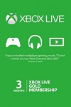 Xbox One/360 Live 3 month GOLD Subscription WORLDWIDE