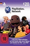 Playstation Network Live Card  EUR20 Germany