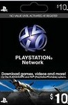 Playstation Network Live Card $10 USA