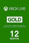 Xbox 360/ONE Live 12 month GOLD Subscription WORLDWIDE