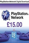 Playstation Network Live Card £15 UK