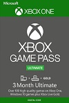 3 Month Xbox Live Gold + Xbox Game Pass Ultimate Xbox One/PC Worldwide