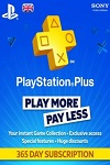 Sony Playstation Plus 12 Month Subscription UK