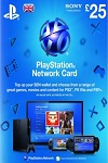 Playstation Network Live Card £25 UK