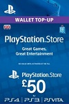 Playstation Network Live Card £50 UK
