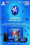 Playstation Network Live Card £35 UK
